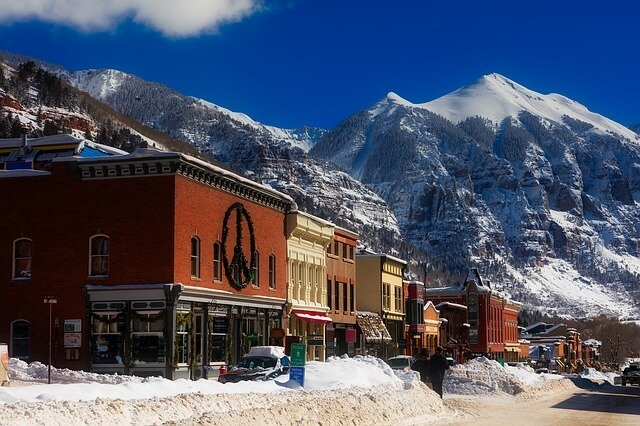 Telluride, Colorado during the day