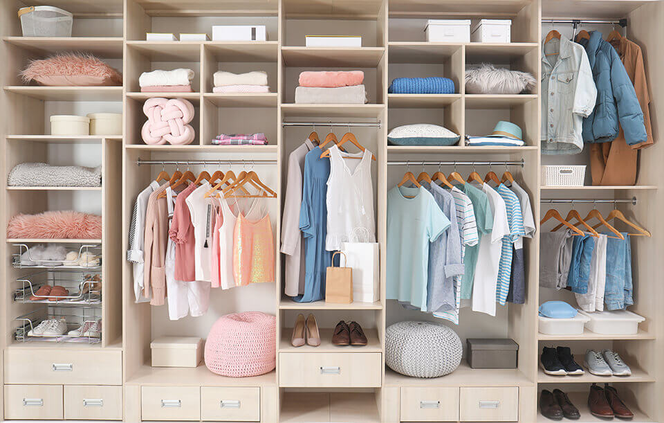 Too many shirts and pants in a closet are not a problem when you have the right tips to help you move.