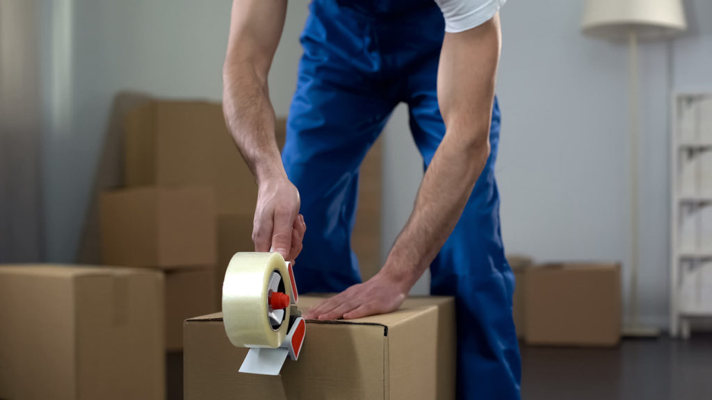 Find a reputable shipping company and have a smooth transition